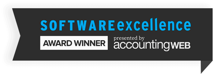 AccountingWEB Software Excellence Winner