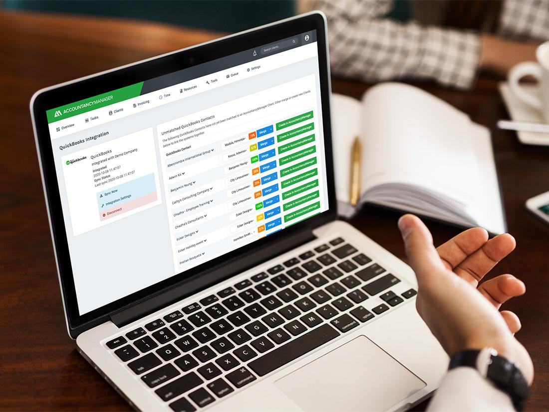 QuickBooks/AccountancyManager Integration