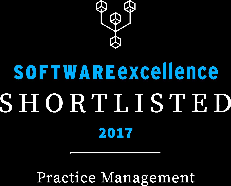 Software Excellence Awards Shortlisted Practice Management 2017
